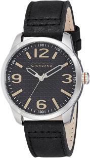 Giordano A1049-01 Black Dial Analog Men's Watch (A1049-01)