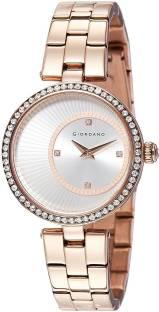 Giordano A2056-33 Silver Dial Analog Women's Watch (A2056-33)