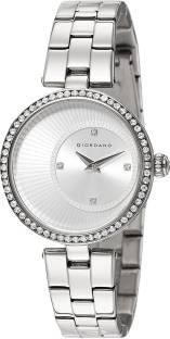 Giordano A2056-11 Silver Dial Analog Women's Watch (A2056-11)