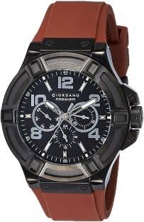 Giordano P1059-09 Black Dial Analog Men's Watch (P1059-09)