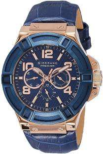 Giordano P1059-05 Blue Dial Analog Men's Watch (P1059-05)
