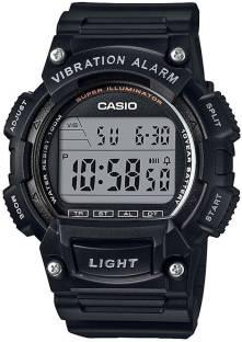 Casio Youth W-736H-1AVDF (I102) Digital Black Dial Watch For Men (W-736H-1AVDF (I102))