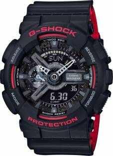 Casio G-Shock GA-110HR-1ADR (G700) Analog Digital Black Dial Men's Watch (GA-110HR-1ADR (G700))