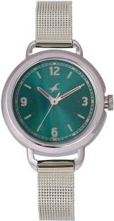 Fastrack 6123SM05 Analog Green Dial Women's Watch (6123SM05)