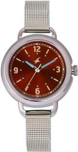 Fastrack 6123SM04 Bare Basics Analog Women's Watch (6123SM04)