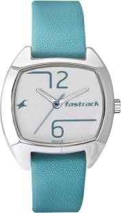 Fastrack 6162SL02 Analog Grey Dial Women's Watch (6162SL02)