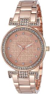 Giordano A2057-44 Gold-Toned Analog Women's Watch (A2057-44)
