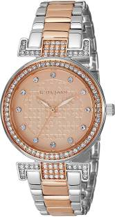 Giordano A2057-88 Gold-Toned Analog Women's Watch (A2057-88)