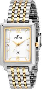 Maxima 43131CMGT Analog Black Dial Men's Watch (43131CMGT)