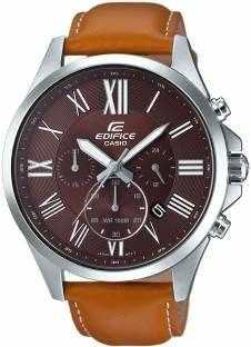 Casio Edifice EFV-500L-5AVUDF (EX320) Analog Brown Dial Men's Watch (EFV-500L-5AVUDF (EX320))
