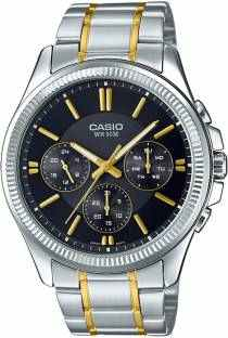 Casio Enticer MTP-1375SG-1AVDF (A1080) Analog Black Dial Men's Watch (MTP-1375SG-1AVDF (A1080))