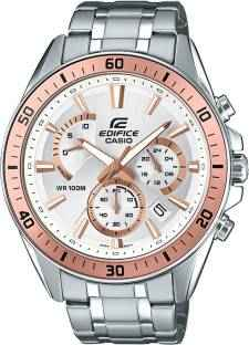 Casio Edifice EFR-552D-7AVUDF (EX357) Analog White Dial Men's Watch (EFR-552D-7AVUDF (EX357))