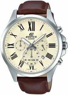 Casio Edifice EFV-500L-7AVUDF (EX321) Analog Off White Dial Men's Watch (EFV-500L-7AVUDF (EX321))