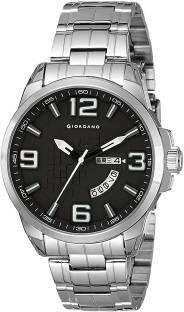 Giordano C1001-11 Black & Blue Analog Men's Watch (C1001-11)