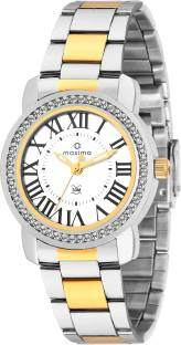 Maxima 43010CMLT Analog Silver Dial Women's Watch (43010CMLT)
