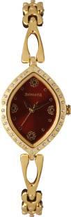 Sonata 8149YM01 Maroon Analog Women's Watch (8149YM01)