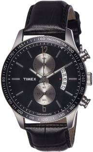 Timex TWEG14900 E Class Analog Black Dial Men's Watch (TWEG14900)