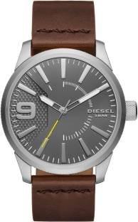 Diesel DZ1802 Analog Silver Dial Men's Watch (DZ1802)