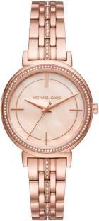 Michael Kors MK3643 Rose Gold Dial Analog Women's Watch