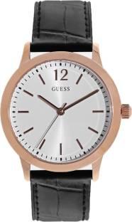 Guess W0922G6 Exchange White Dial Analog Men's Watch (W0922G6)