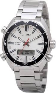 Citizen JM5460-51A Analog-Digital White Dial Men's Watch (JM5460-51A)