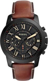 Fossil FS5241 Chronograph Black Dial Men's Watch (FS5241)