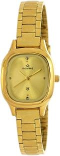 Maxima 40016CMLY Analog Gold Dial Women's Watch (40016CMLY)