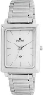 Maxima 40111CMGI Analog White Dial Men's Watch (40111CMGI)