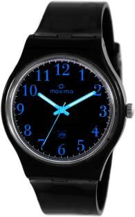 Maxima 39051PPGW Analog Black Dial Men's Watch
