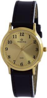 Maxima 26774LMGY Formal Gold Analog Men's Watch (26774LMGY)
