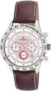 Maxima 24152LMGI Attivo Analog White Dial Men's Watch (24152LMGI)