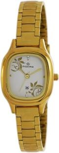 Maxima 40010CMLY Analog White Dial Women's Watch (40010CMLY)