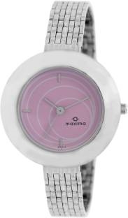 Maxima 39651CMLI Attivo Steel Analog Women's Watch (39651CMLI)