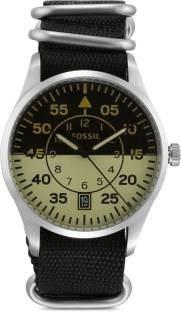 Fossil FS5248 Black & Beige Analogue Men's Watch (FS5248)