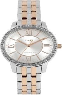 Timex TW000Y809 Fashion Analog Silver Dial Women's Watch (TW000Y809)