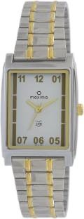 Maxima 43340CMGT Analog White Dial Men's Watch (43340CMGT)