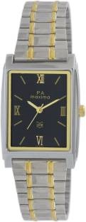 Maxima 43342CMGT Analog Black Dial Men's Watch (43342CMGT)