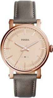 Fossil ES4180 Analog Rose Gold Dial Women's Watch (ES4180)