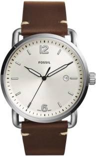 Fossil FS5275 Analog White Dial Men's Watch (FS5275)