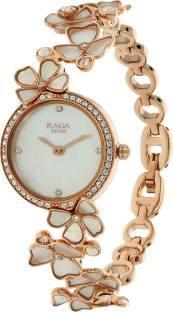 Titan Raga 95030WM01J Analog Mother of Pearl Dial Women's Watch (95030WM01J)