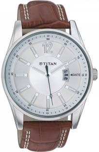 Titan Octane 9322SL03 Analog Silver Dial Men's Watch (9322SL03)