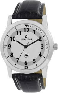Maxima 44670LMGI Analog White Dial Men's Watch (44670LMGI)