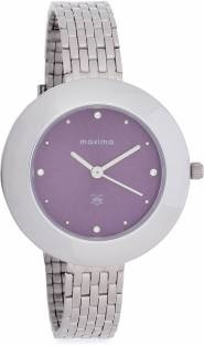 Maxima 44902CMLI Analog Purple Dial Women's Watch (44902CMLI)