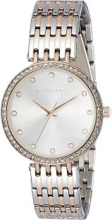 Giordano A2045-66 Silver-Toned Analog Women's Watch (A2045-66)