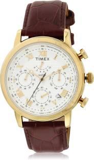 Timex TWEG15805 Silver Dial Analog Men's Watch (TWEG15805)