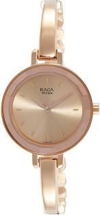 Titan Raga Titan 2575WM01 Viva Rose Gold Dial Analog Women's Watch (Titan 2575WM01)