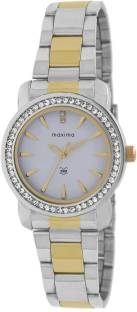 Maxima 43011CMLT Analog White Dial Women's Watch (43011CMLT)