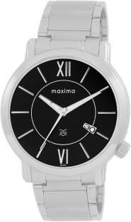 Maxima 25463CMGI Black Dial Analog Men's Watch (25463CMGI)