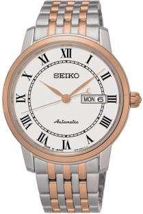 Seiko SRP766J1 Analog White Dial Men's Watch (SRP766J1)