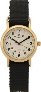 Timex T2P476 Analog White Dial Unisex Watch (T2P476)